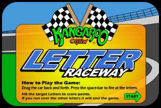 Letter Raceway Games