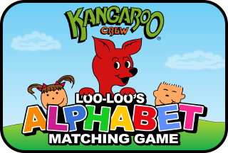 Loo-Loo's Alphabet Matching Games