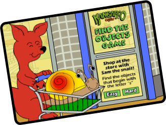 Shopping with Same the Snail Title Screen